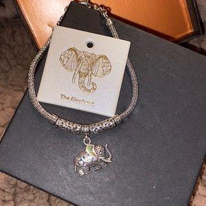 Sterling Silver The Elephant Bracelet